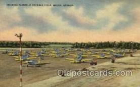 mil050164 - Conchran, Macon, Georgia, USA Military Postcard Postcards