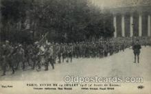 mil050176 - Itation troops. Royal street Military Postcard Postcards