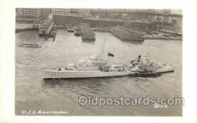 mil050183 - USS Anderson Real Photo Military Postcard Postcards