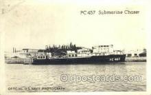 mil050211 - PC 457 Submarine chaser Real Photo Military Postcard Postcards