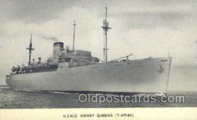 mil050224 - USNS Henry Gibbins Military Postcard Postcards