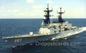 mil050245 - USS Spruance Military Postcard Postcards