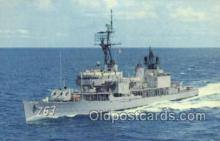 mil050246 - USS William C Lawe Military Postcard Postcards