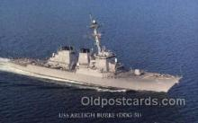 mil050248 - USS Arleigh Burke Military Postcard Postcards
