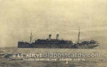 mil050279 - USS Aeolus Formerly the German Liner Grosser Kurfur Military Postcard Postcards