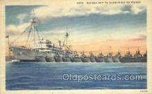 mil050285 - Mother ship to submarines Military Postcard Postcards