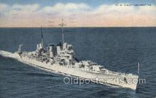 mil050291 - US Light Cruiser Military Postcard Postcards