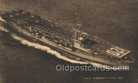 mil050293 - USS Mindoro Military Postcard Postcards