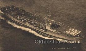 mil050294 - USS Mindoro Military Postcard Postcards