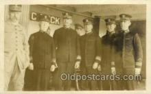 mil050306 - C Deck Military Ship Old Vintage Antique Post Card Postcards