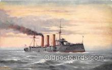 mil050310 - HMS Essex Tucks Postcards Postcard Post Card