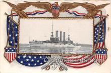 mil050314 - USS Marine  Postcard Post Card