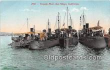 mil050317 - Torpedo Fleet Sand Diego, California Postcard Post Card