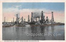 mil050324 - Philadelphia Navy Yard, League Island Philadelphia, PA Postcard Post Card