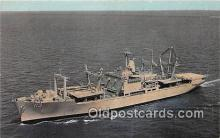 mil050333 - USS Charleston LKA 113 First Amphibious Cargo Ship Postcard Post Card