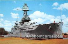 mil050338 - Battleship Texas  Postcard Post Card