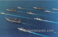 mil050340 - Battle Force Red Sea Carriers USS John F Kennedy Postcard Post Card