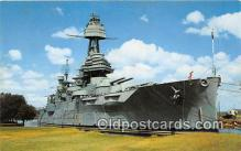 mil050344 - Battleship Texas San Jacinto Battlegrounds, Houston, TX Postcard Post Card