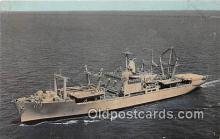mil050348 - USS Charleston LKA 113 First Amphibious Cargo Ship Postcard Post Card