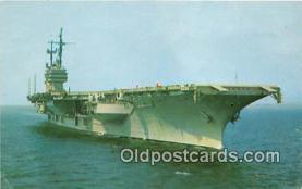 mil050351 - USS Saratoga  Postcard Post Card