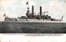 mil050353 - US Battleship Iowa Philadelphia, PA Postcard Post Card