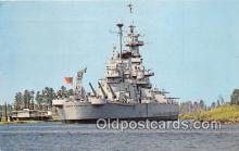 mil050360 - USS North Carolina Wilmington, North Carolina Postcard Post Card