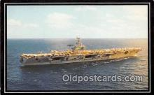 mil050374 - USS Dwight D Eisenhower Warship Postcard Post Card