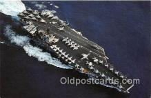 mil050384 - USS John F Kennedy CV-67 Carrier Airwing 3 Postcard Post Card