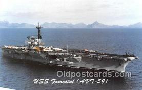 USS Forrestal AVT-59