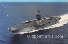 mil050393 - USS Enterprise CVN-65 Newport News, VA Postcard Post Card