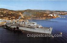 mil050395 - USS Orion AS-18 Submarine Tender Postcard Post Card