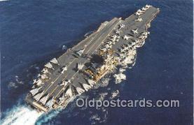 mil050397 - USS America CV 66 Mediterranean Sea, Operation Desert Storm Postcard Post Card