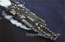 mil050404 - USS John F Kennedy CV-67 Carrier Airwing 3 Postcard Post Card