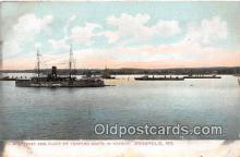 mil050412 - USS Texas Annapolis, Maryland Postcard Post Card