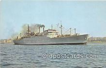 mil050421 - UPSHUR T-AP 198 United States Naval Ship Postcard Post Card