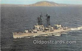 mil050422 - USS Parsons DDG-33 Pascagoula, Mississippi Postcard Post Card