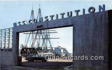 mil050431 - USS Constitution US Naval Shipyard, Charlestown, Massachusetts Postcard Post Card