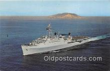 mil050435 - USS Ogden LPD-5 New York Naval Shipyards Postcard Post Card