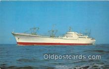 mil050448 - Nuclear Ship Savannah First Nuclear Powered Merchant Ship Postcard Post Card