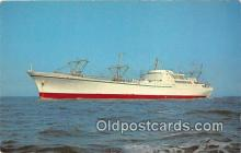 mil050449 - Nuclear Ship Savannah First Nuclear Powered Merchant Ship Postcard Post Card