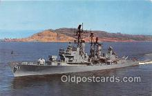 mil050451 - USS Mahan DLG-11 United States Navy Ship Postcard Post Card