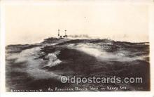 mil050455 - American Battle Ship  Postcard Post Card