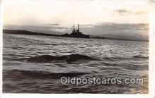 mil050458 - USS Oklahoma  Postcard Post Card