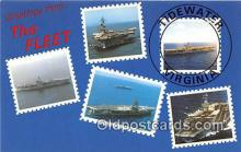 mil050459 - USS John F Kennedy USS Dwight D Eisenhower Postcard Post Card