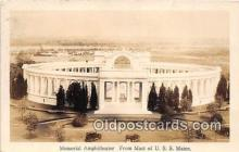 mil050468 - Real Photo - Memorial Amphitheater USS Maine Postcard Post Card