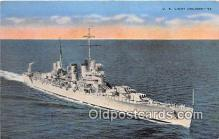 mil050471 - US Light Cruiser  Postcard Post Card