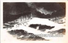 mil050481 - USS Oklahoma  Postcard Post Card
