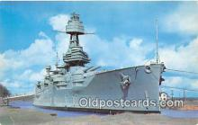 mil050499 - Battleship Texas San Jacinto Battlegrounds, Houston, TX Postcard Post Card
