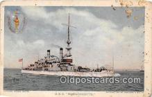 mil050503 - USS Massachusetts  Postcard Post Card