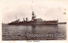 mil050508 - HMS Dragon  Postcard Post Card
